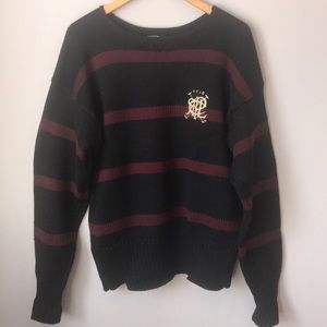 Ralph Lauren Polo Club Wool Vintage Sweater